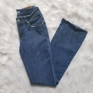 cj co riding jeans in a size 4